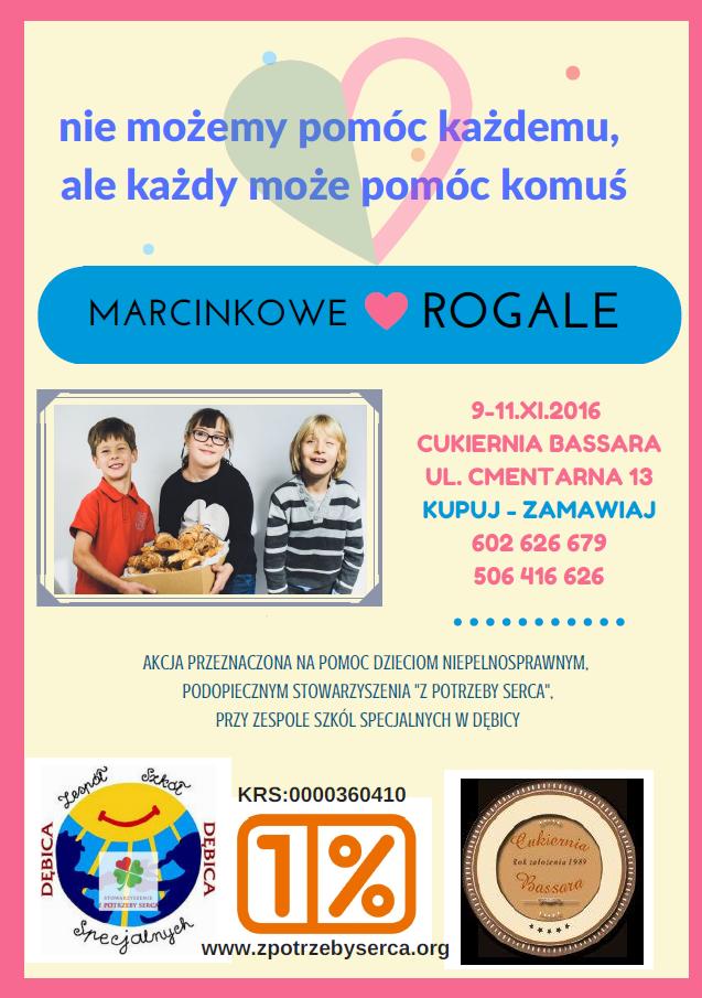 MARCINKOWE ROGALE