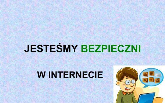 BEZPIECZNI W INTERNECIE